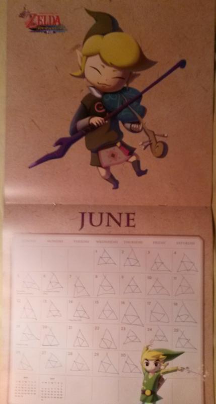 Calendrier Zelda 2016 (Juin)