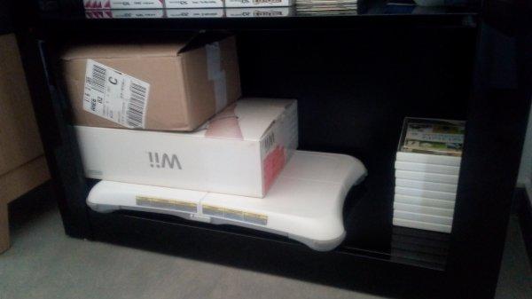 Récupération de la consôle Wii :D !!