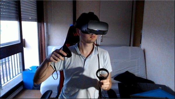 Arriver de la VR sur ma chaine