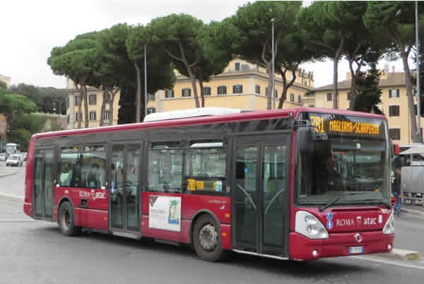 IRIS BUS CIELIS   BUS  D ITALIE  A ROME