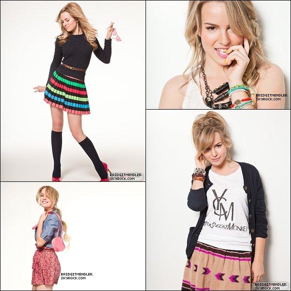 *Notre belle Bridgit pose pour le magazine Seventeen Magazine.*
