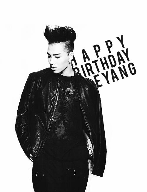 Happy birthday Tae Yang ! (BIGBANG)