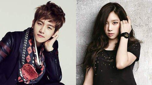 Taeyeon (Girls' Generation) et Baekhyun (EXO-K) sont en couple!