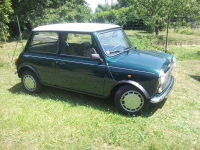 Austin Mini Racing Green A Vendre Restauration De Ma Mini