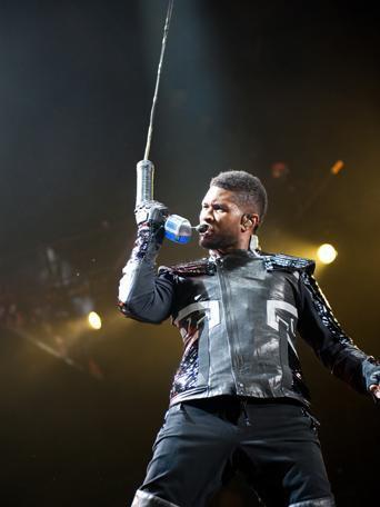 Usher - Melbourne, 19 mars