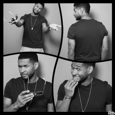 Samedi 16 avril : Photoshoot d'Usher en Allemagne !