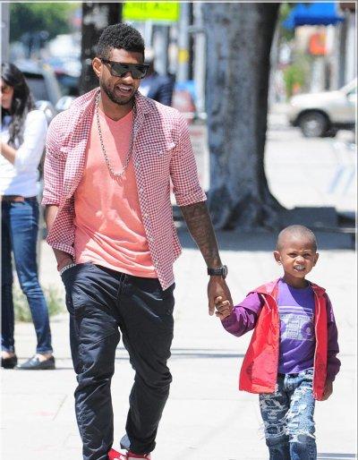 Usher et son fils et autres !