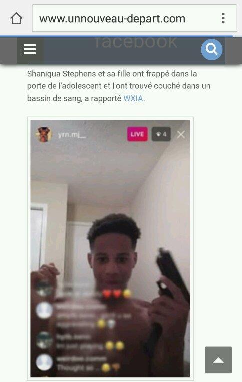 Un enfant de 13 ans se suicidé live en instagrame
