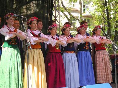 100 ans de ma fac , costumes traditionnels polonais