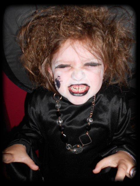 Halloween 2011 ( ma sorciere bien aimée )