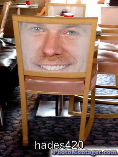 La chaise de Garou