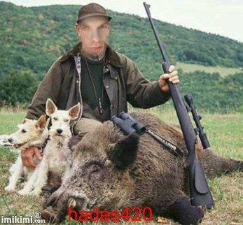 Garou en chasseur