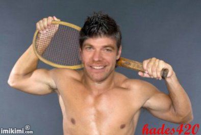 Garou en joueur de tennis