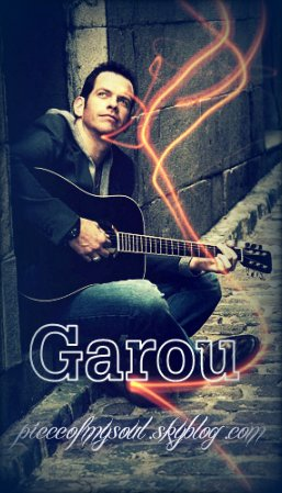 Info via Facebook: Garou - Official