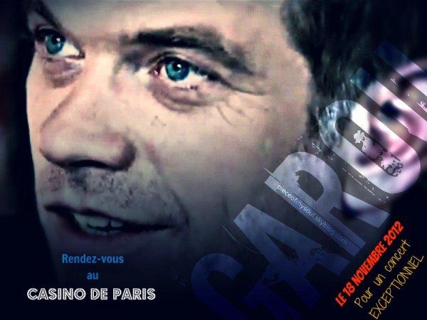 Garou : Rendez vous au Casino de Paris pour un concert exceptionnel…
