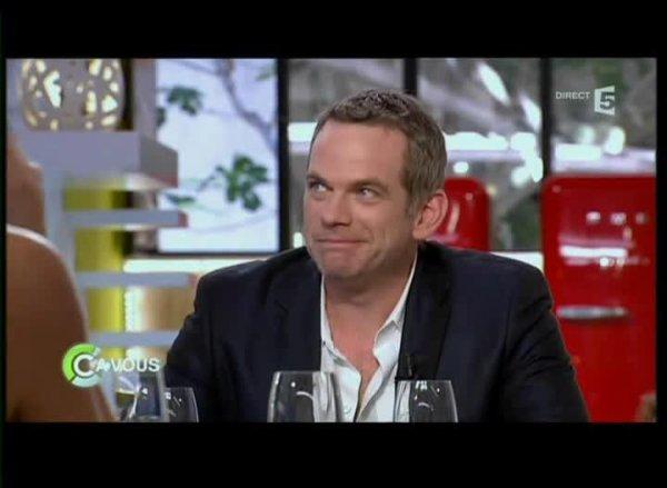 Garou dans C à vous l'émission du 10/05/2012