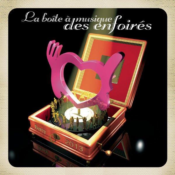 La boîte à musique des Enfoirés - Bercy 2013
