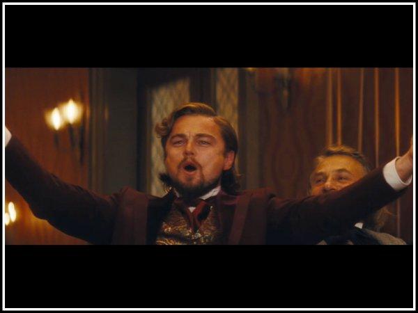SURPRISE ...et oui c'est bien Léonardo dicaprio qui est a l'affiche du prochain tarantino ....BONUS la musique du film.....