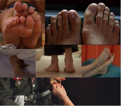 Les pieds ,  le cinéma ,  la littérature......