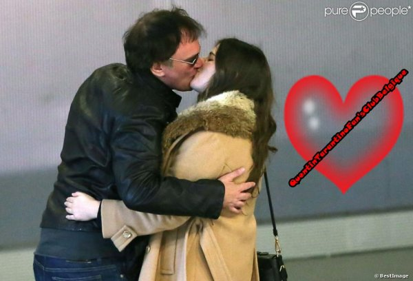 Une Nouvelle Amoureuse ( encore ) pour Quentin Tarantino........oooops!