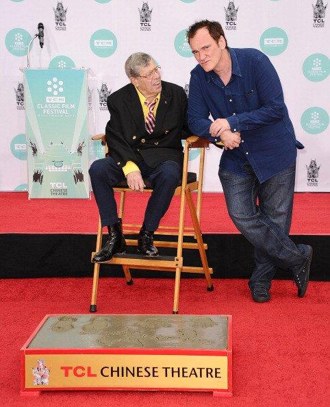 Jerry Lewis : Hilarant et honoré à 88 ans devant sa femme, sa fille et Tarantino