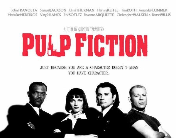 """20 ans de succés pour """" Pulp Fiction """" cérémonie 20 ans plus tard a cannes ..."""