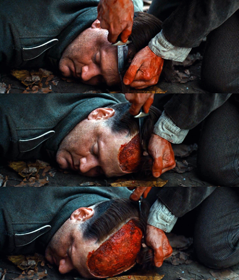 INGLOURIOUS BASTERDS ; Attention le Salpé est ; QUENTIN TARANTINO