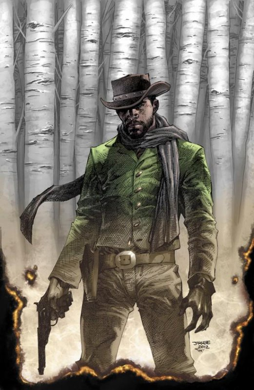 Django Unchained en comic book