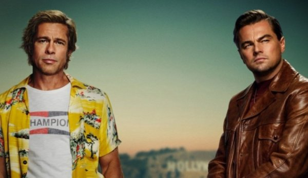 "Official poster "" Once Upon a Time in Hollywood """