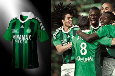 Maillot domicile version 2011-2012 !