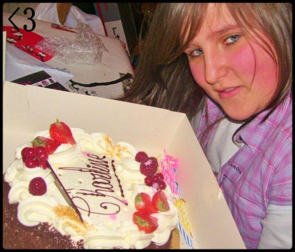 Moi a mon anniversaire