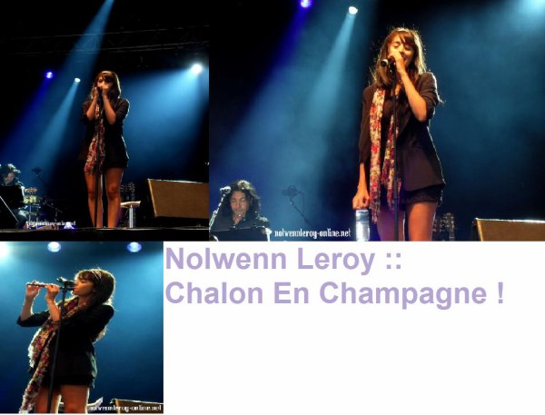 Nolwenn => Chalon en champagne le 29 aout 2010