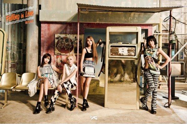 """2NE1 propose de nouvelles photos teaser pour """"Falling In Love"""""""