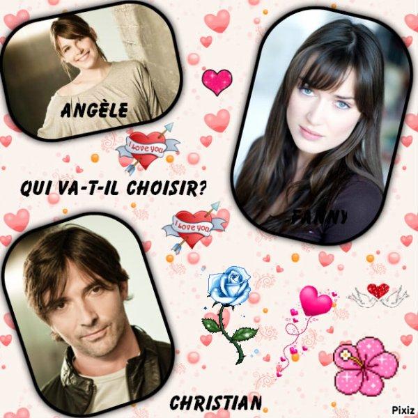 Christian partagé entre Angèle et Fanny
