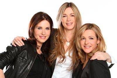 Jeanne, Hélène et Bénédicte