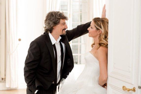 Bénédicte et José en mariés