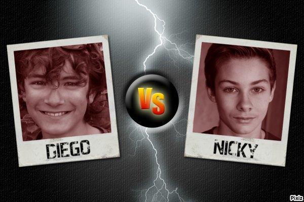Diego versus Nicky