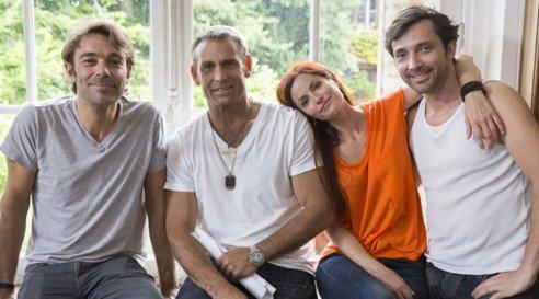 Nicolas, Jimmy, Marie et Christian