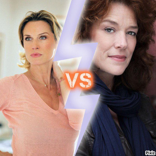 Audrey VS Johanna