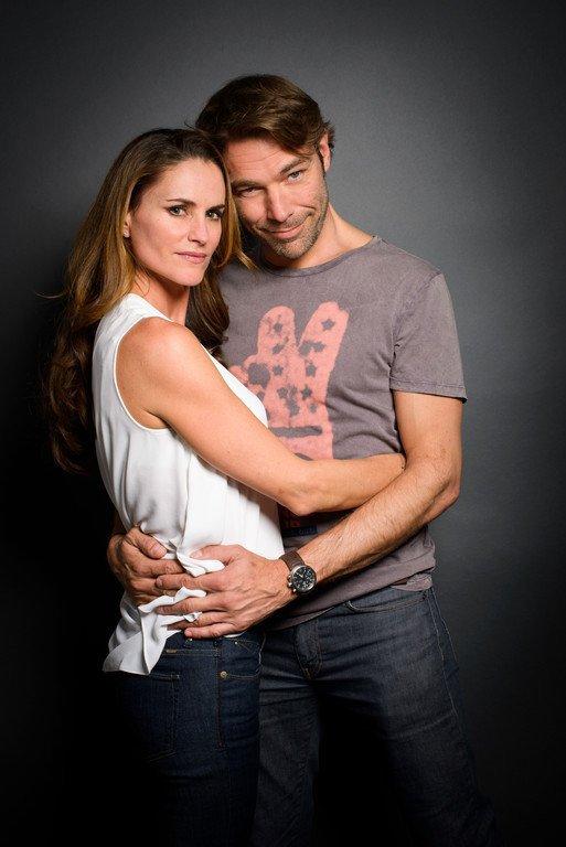 Nicolas avec Ingrid