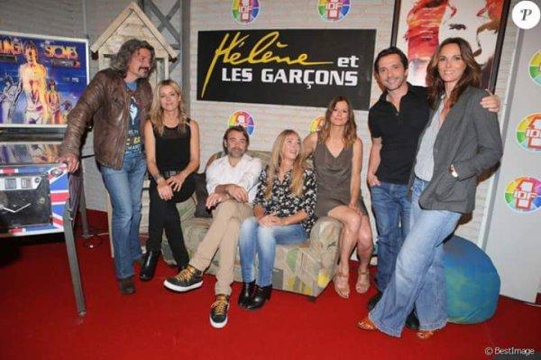 Philippe, Laure, Patrick, Hélène, Laly, Sébastien et Cathy