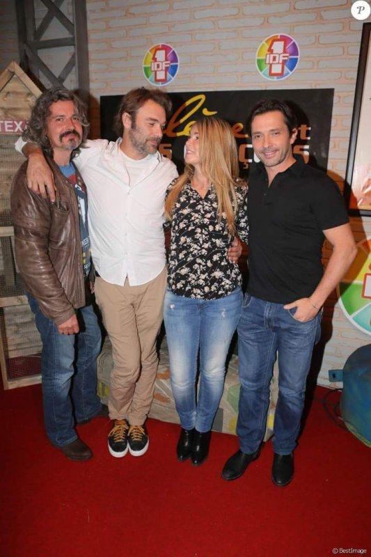 Philippe, Patrick, Hélène et Sébastien