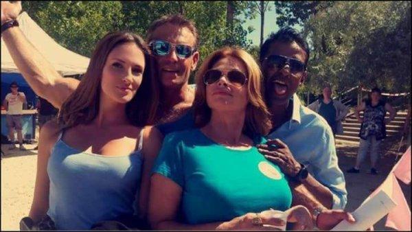 Stéphanie, Jimmy, Olga et Rudy