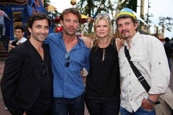 Sébastien, Patrick, Laly et Philippe