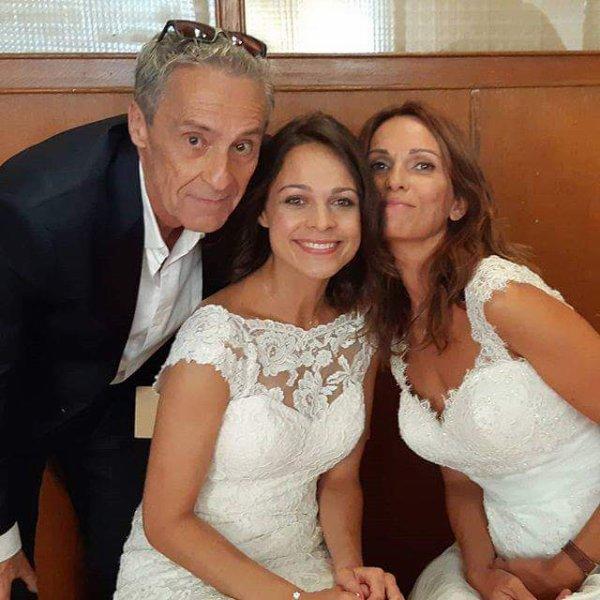 Photos de tournage du mariage de Fanny et Christian