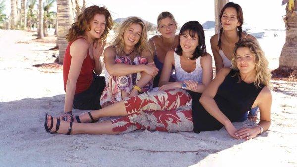 Les filles des Vacances de l'amour