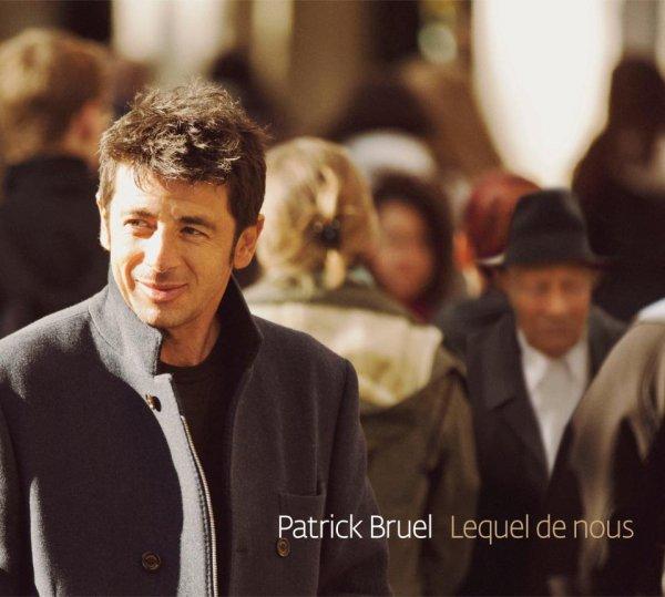 Pochette OFFICIEL du nouvel album de Patrick Bruel !