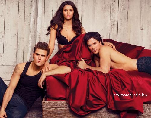 Photoshoot (très hot) pour Entertainment Weekly. Ce sont de superbes clichés!  ♥