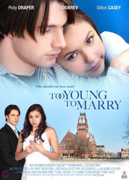 """Aujourd'hui vous avez peut-être reconnu Nina Dobrev dans """"Mariage et conséquences"""" sur TF1 à 14h55. On peut dire que Nina a bien changé! ;)"""