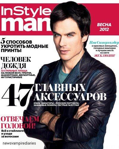 Nouveau Photoshoot de Ian pour le magazine InStyle de Russie